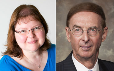 Two Edwards alumni honoured with prestigious FCPA designation