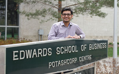 Pakistan to the Prairies: Edwards student celebrates long journey to U of S degree